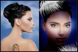 איפור ושיער בעיצוב אידיאלי לכלה