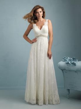 שמלת כלה בסגנון אמפייר קלאסי