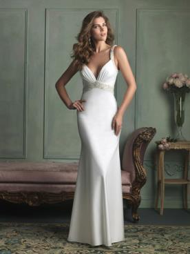 שמלת כלה מקסי בגזרה קלאסית
