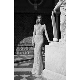שמלת כלה קלאסית בסגנון אירופאי