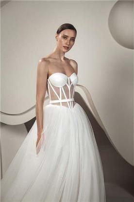 שמלה כלה צמודה