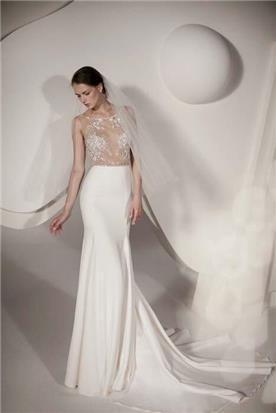 שמלת ערב עם שרוולים