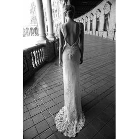שמלת כלה למראה מודרני קלאסי