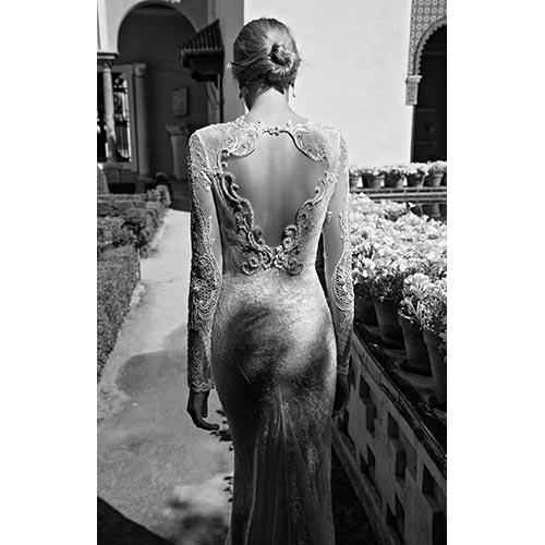 שמלת כלה למראה אצילי רומנטי