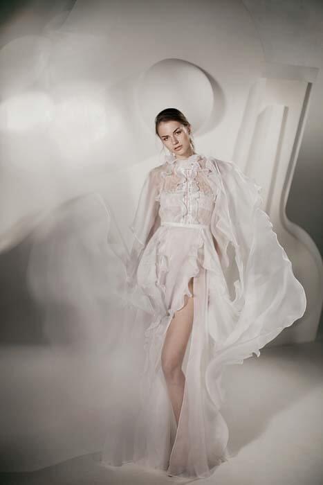 שמלת ערב עם מחשוף