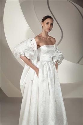 שמלת כלה עם מחוך