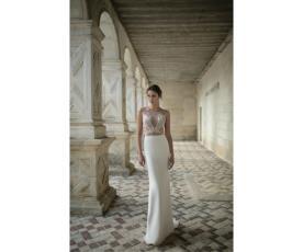שמלת כלה עם טאץ אלגנטי