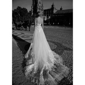 שמלת כלה נסיכותית יפייפיה לכלה