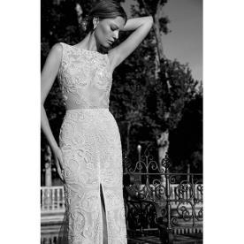 שמלת כלה עם טאץ רומנטי מודרני