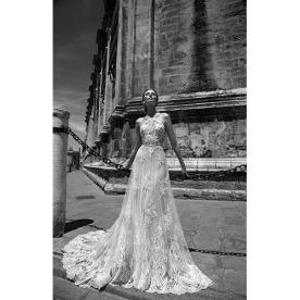 שמלת כלה אלגנטית בעיצוב מודרני