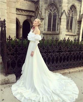 שמלה ערב עם שרוול ארוך