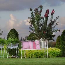ספסל בגינה