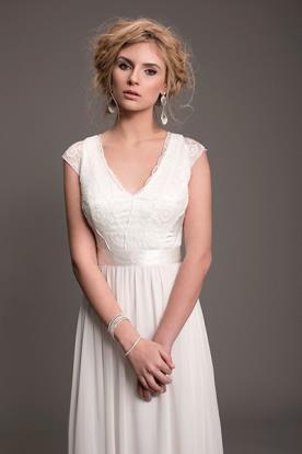 שמלת כלה בלוק עדין לערב קסום
