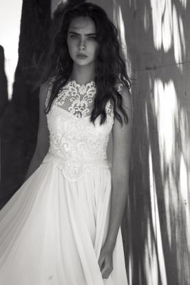 שמלת כלה אלגנטית בעיצוב מרשים