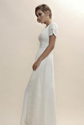 שמלת כלה במראה קסום לערב רומנטי