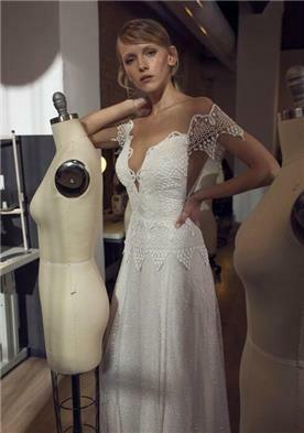 שמלת כלה מבדים מיוחדים