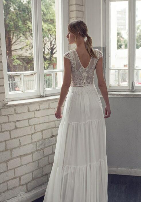 שמלת כלה שני חלקים