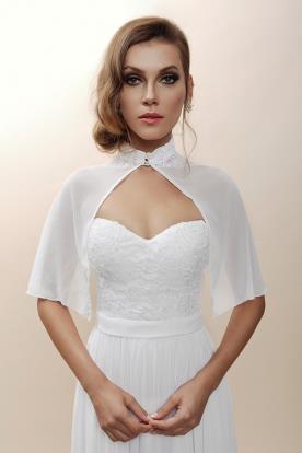 שמלת כלה עם עליונית יפה