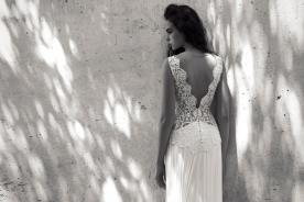 שמלת כלה עם אלמנט רומנטי