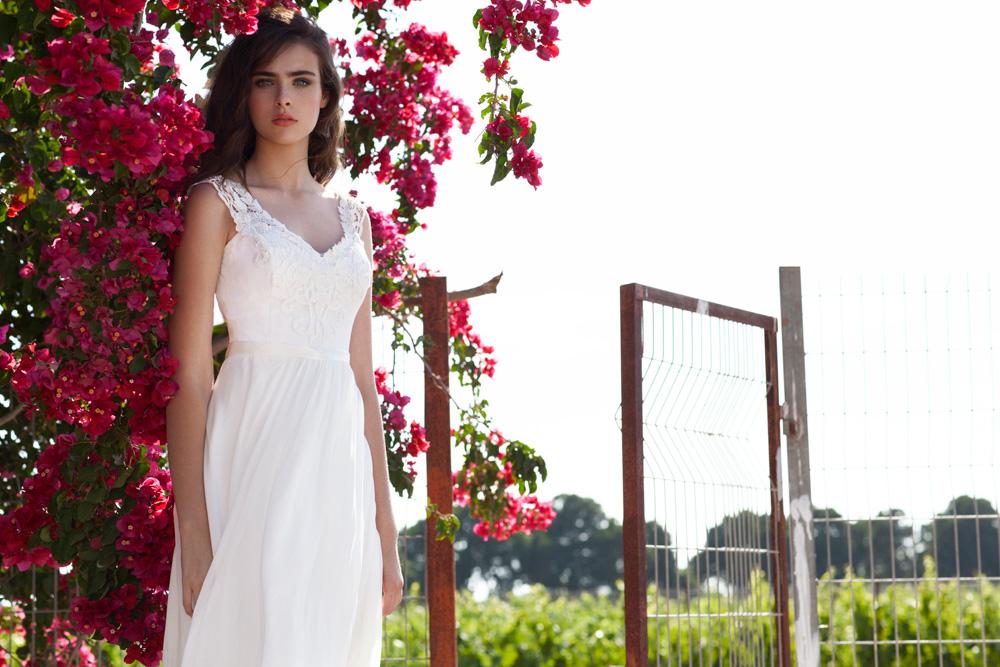 שמלת כלה בסגנון עדין בכל מידה