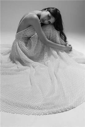 שמלת כלה מבד מיוחד
