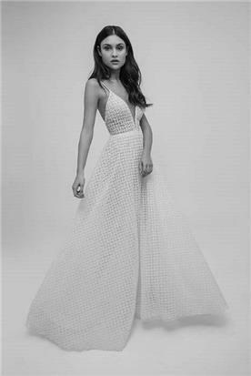 שמלת כלה עם מרקם מיוחד