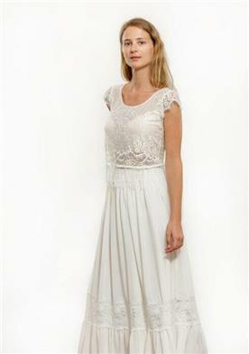 שמלת כלה כפרית