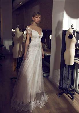 שמלת כלה עם משי