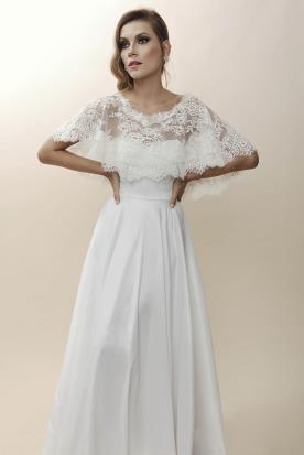 שמלת כלה רומנטית בסגנון ספרדי