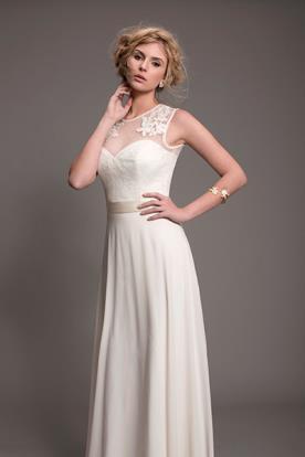 שמלת כלה במראה עדין לערב קסום