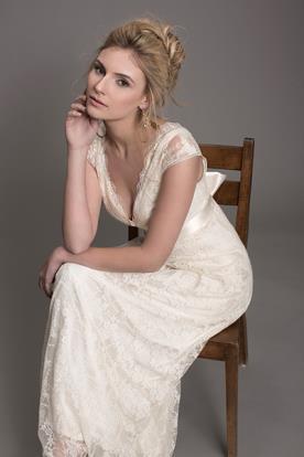שמלת כלה מעוטרת לערב קסום