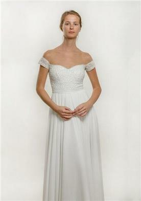 שמלת כלה בסגנון סטרפלס
