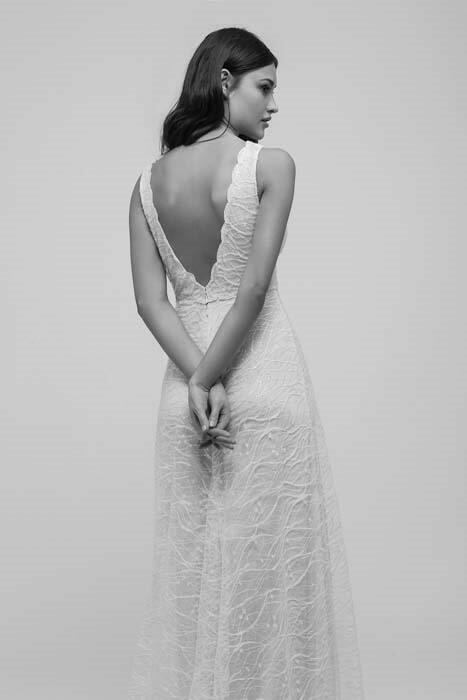 שמלת כלה צמודה מיקה
