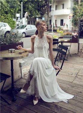 שמלת כלה בעיצוב אתני