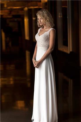 שמלת כלה קייצית ויפה