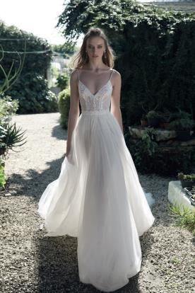 שמלת כלה רומנטית חצאית טול