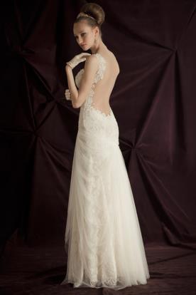 שמלת כלה רבידות טול