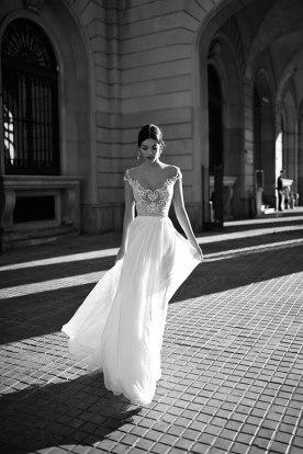 שמלת כלה בסגנון רומנטי