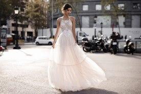 שמלת כלה פפיון מרכזי