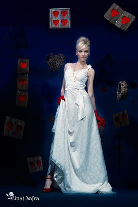 שמלת כלה קלאסית תחרה