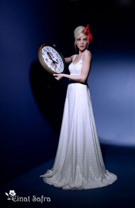שמלת כלה קלאסית מתרחבת