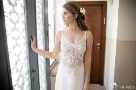 שמלת כלה תחרה סגנון קלאסי