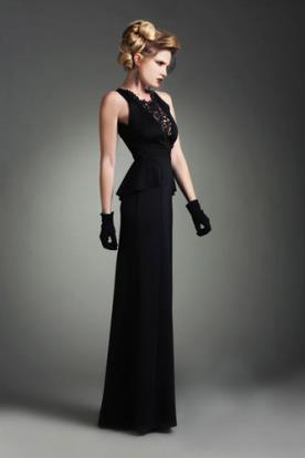 שמלת ערב בסגנון וינטאג הוליוודי