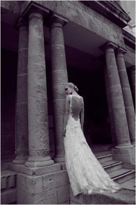 שמלת כלה כתפיות תחרה עשירה