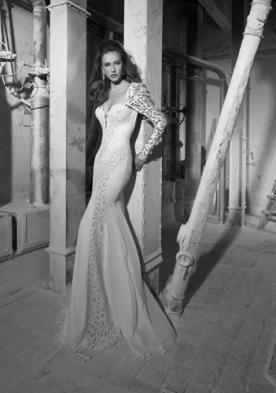 שמלת כלה שיפון עשירה