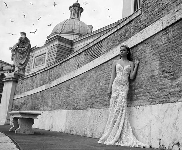שמלת כלה רומנטית עשירה