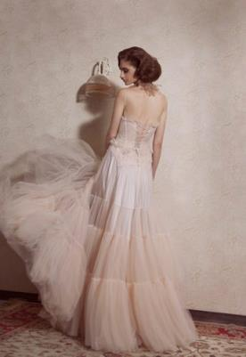 שמלת כלה בוהו שיק גב פתוח