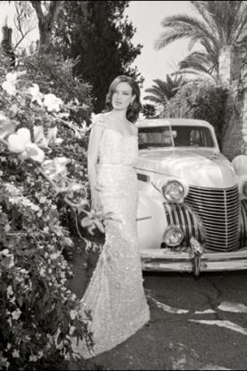 שמלת כלה אלגנטית רומנטית