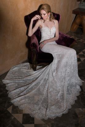 שמלת כלה 2015 תחרה עשירה
