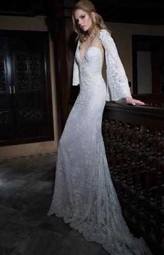 שמלת כלה וינטג' עדינה